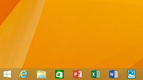タスクバーにWindowsストアアプリをピン留めできるように